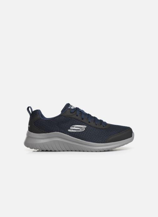 Chaussures de sport Skechers Ultra Flex M Bleu vue derrière