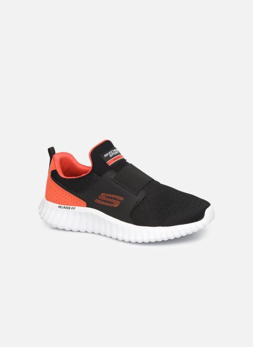 Sportssko Skechers Depth Charge 2.0 Sort detaljeret billede af skoene