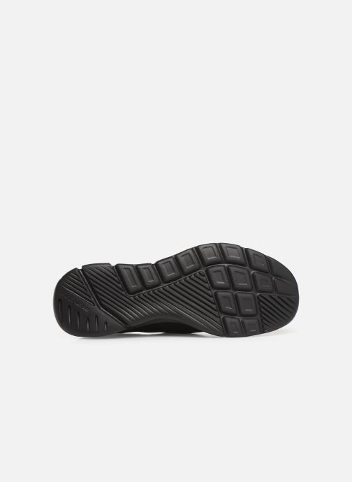 Baskets Skechers Equalizer 3.0 Substic Noir vue haut