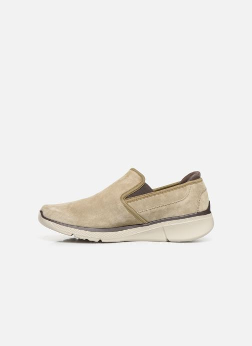 Baskets Skechers Equalizer 3.0 Substic Beige vue face