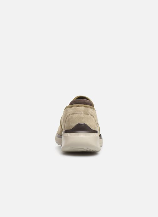 Trainers Skechers Equalizer 3.0 Substic Beige view from the right