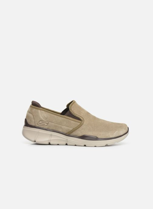 Baskets Skechers Equalizer 3.0 Substic Beige vue derrière