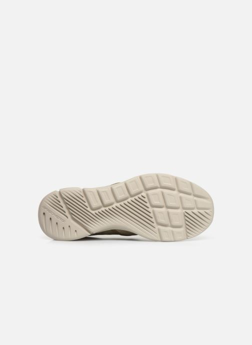 Trainers Skechers Equalizer 3.0 Substic Beige view from above