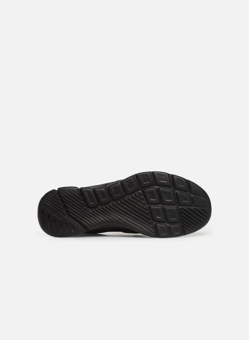 Baskets Skechers Equalizer 3.0 Bluegate Noir vue haut