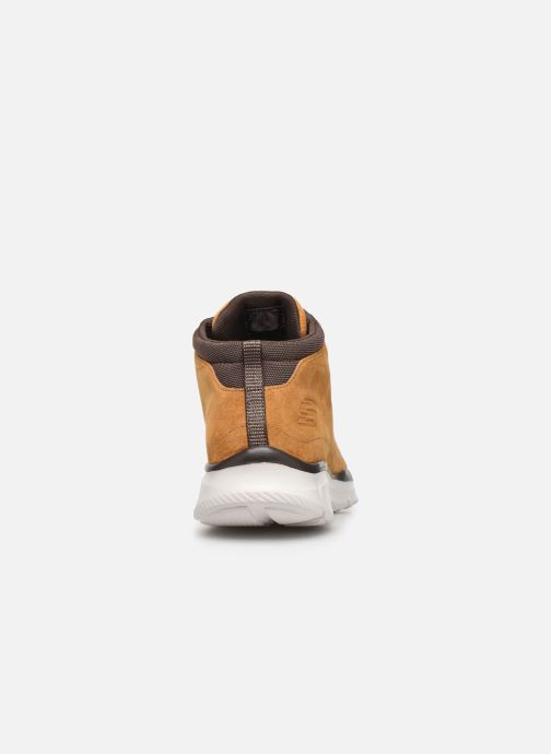 Trainers Skechers Equalizer Mander Brown view from the right