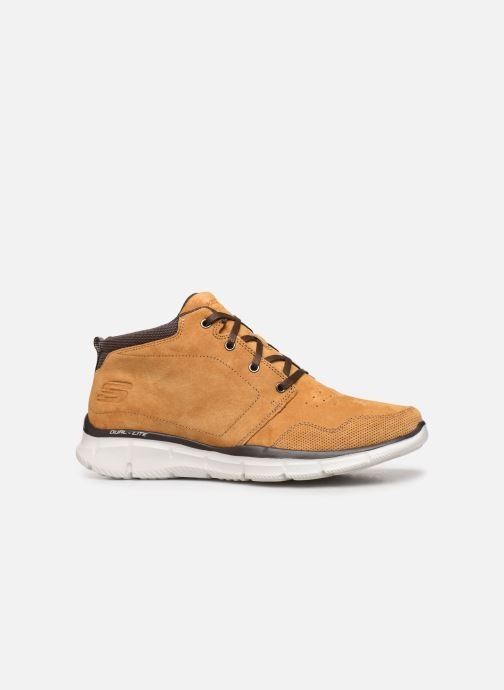 Trainers Skechers Equalizer Mander Brown back view