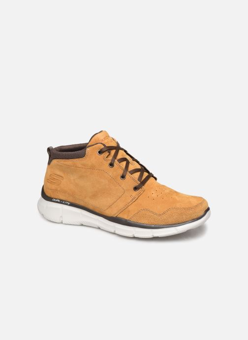 Trainers Skechers Equalizer Mander Brown detailed view/ Pair view