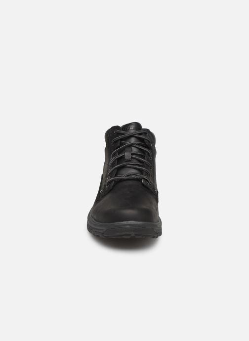 Ankle boots Skechers Segment Garnet Black model view