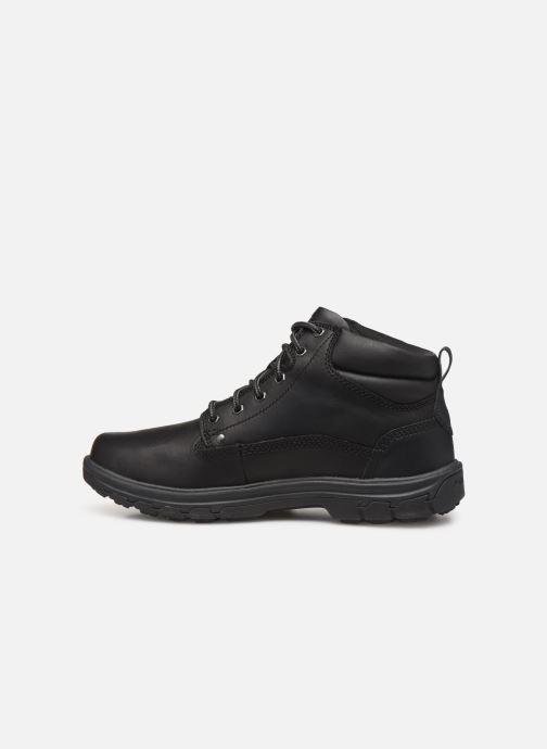 Ankle boots Skechers Segment Garnet Black front view