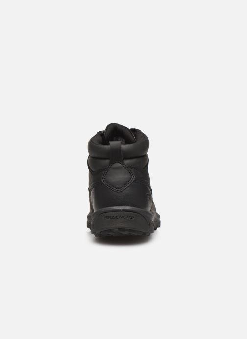 Boots en enkellaarsjes Skechers Segment Garnet Zwart rechts