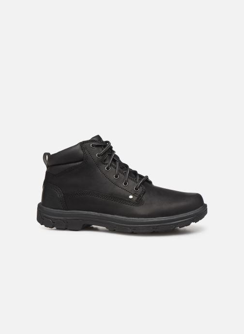 Ankle boots Skechers Segment Garnet Black back view