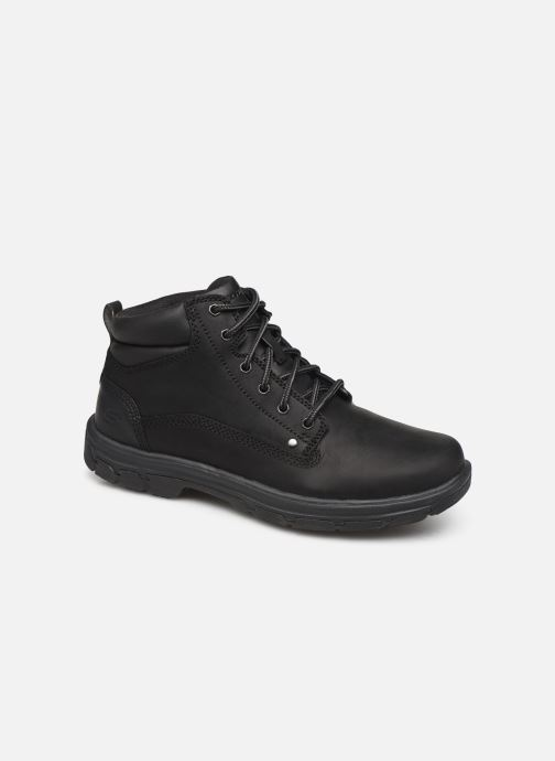 Boots en enkellaarsjes Skechers Segment Garnet Zwart detail