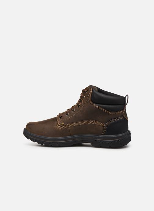 Bottines et boots Skechers Segment Garnet Marron vue face
