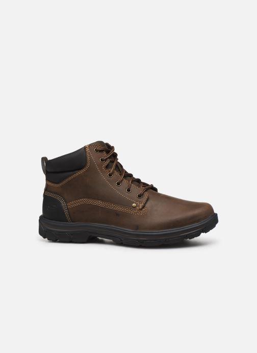 Ankle boots Skechers Segment Garnet Brown back view