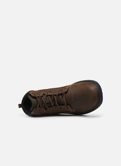Bottines et boots Skechers Segment Garnet Marron vue gauche