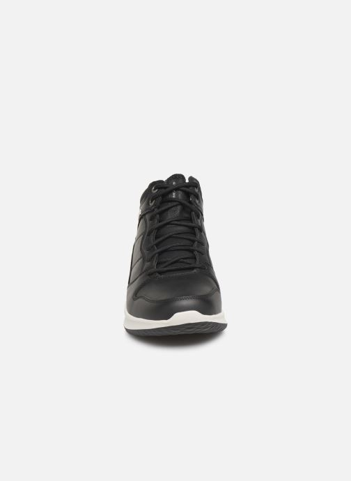 Baskets Skechers Delson Selecto Noir vue portées chaussures
