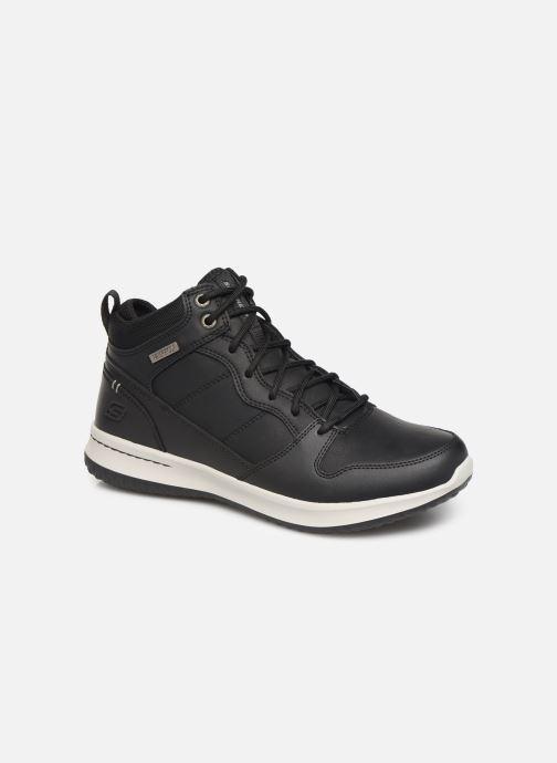 Sneakers Skechers Delson Selecto Sort detaljeret billede af skoene