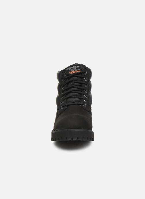 Bottines et boots Skechers Sergeants Verno Noir vue portées chaussures