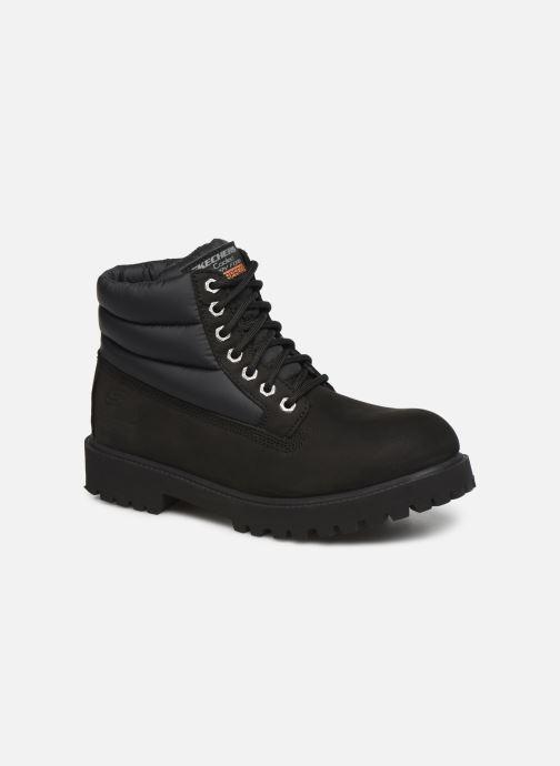 Bottines et boots Skechers Sergeants Verno Noir vue détail/paire
