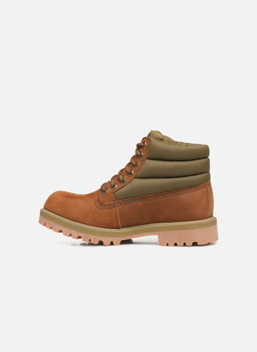 Ankle boots Skechers Sergeants Verno Brown front view