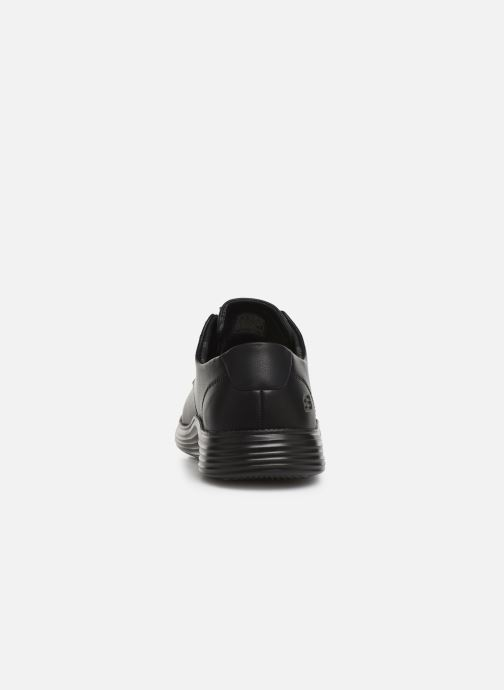Trainers Skechers Status 2.0 Arleno Black view from the right