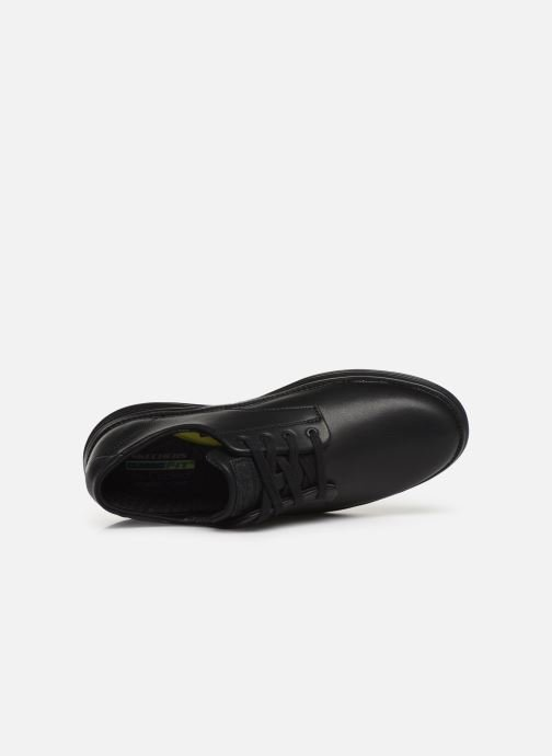 Trainers Skechers Status 2.0 Arleno Black view from the left
