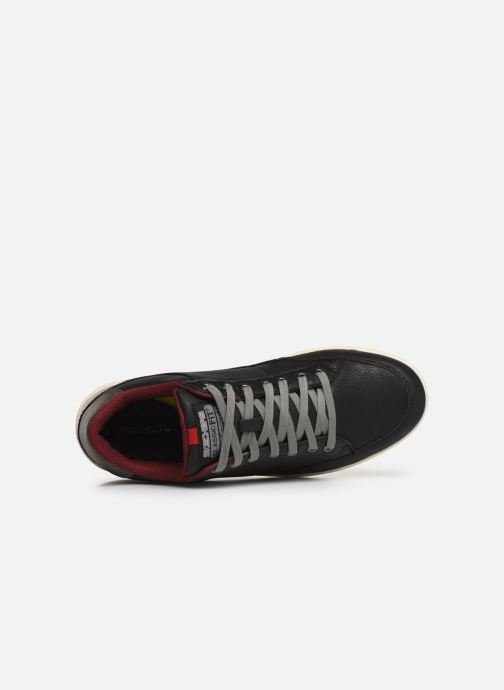 Trainers Skechers Placer Maneco Black view from the left