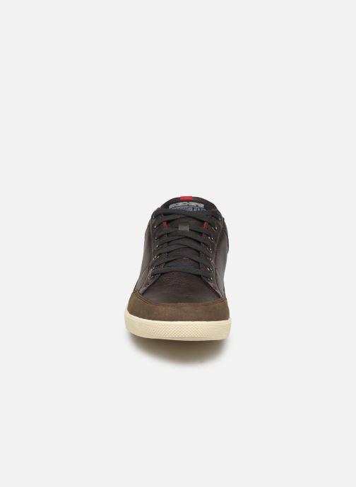Baskets Skechers Placer Maneco Marron vue portées chaussures