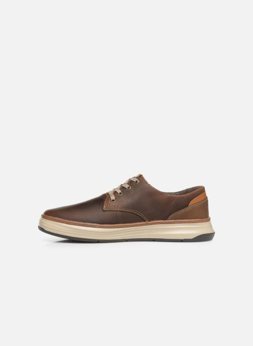Trainers Skechers Moreno Gustom Brown front view