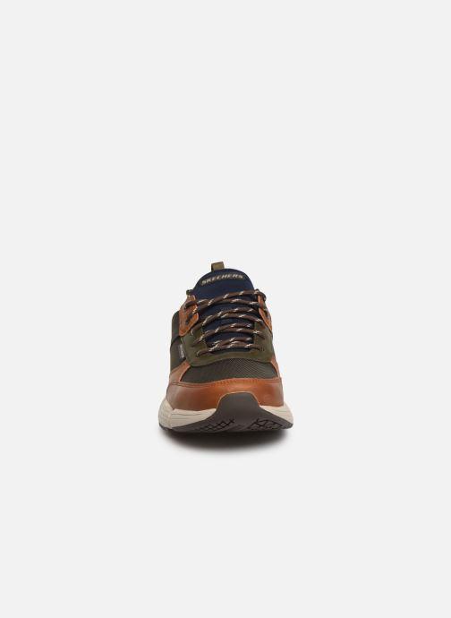 Sneaker Skechers Metco Parken mehrfarbig schuhe getragen