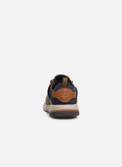 Sneaker Skechers Metco Parken mehrfarbig ansicht von rechts