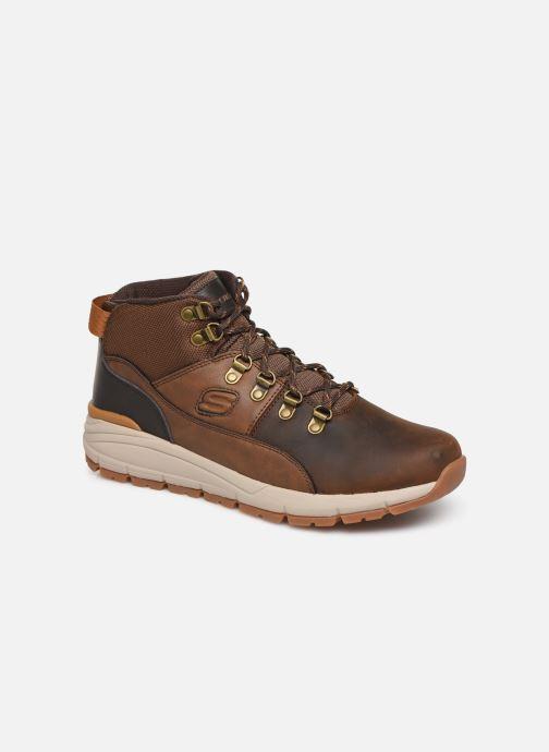 Sneakers Skechers Volero Merix Brun detaljeret billede af skoene