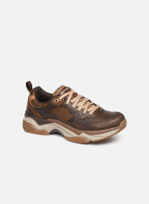 Sneaker Skechers Staxed Brandin braun detaillierte ansicht/modell