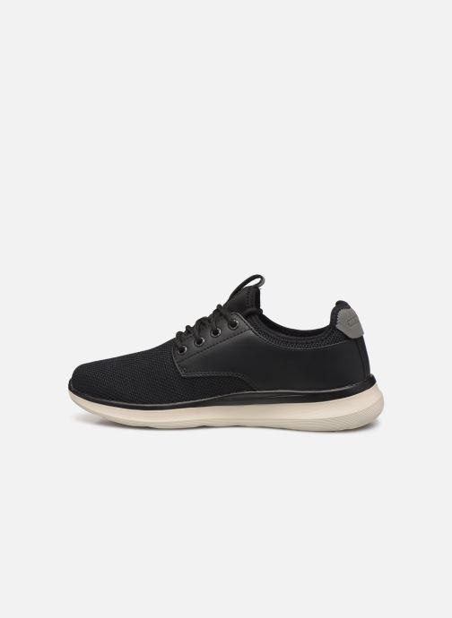 Sneakers Skechers Delson 2.0 Weslo Sort se forfra