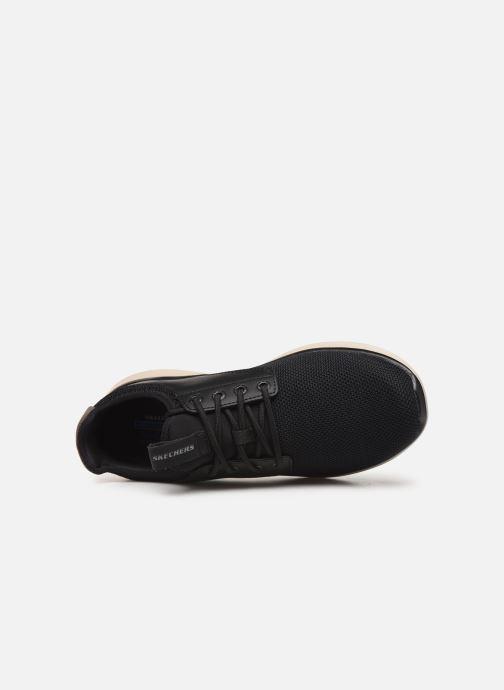 Sneakers Skechers Delson 2.0 Weslo Sort se fra venstre