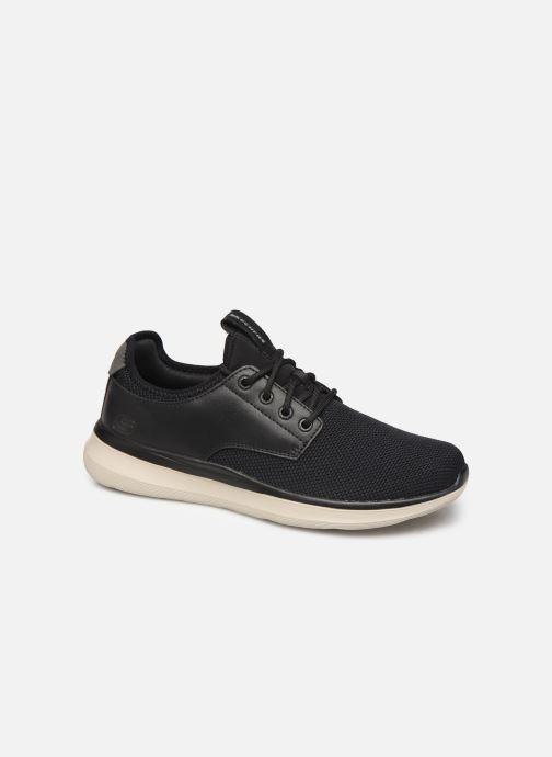 Sneakers Skechers Delson 2.0 Weslo Sort detaljeret billede af skoene