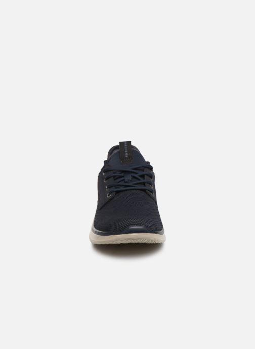 Sneakers Skechers Delson 2.0 Weslo Blå se skoene på