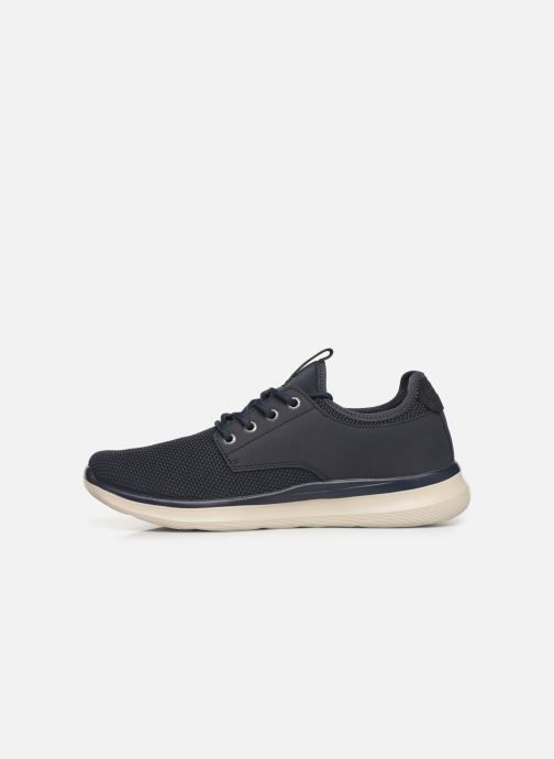 Sneakers Skechers Delson 2.0 Weslo Blå se forfra