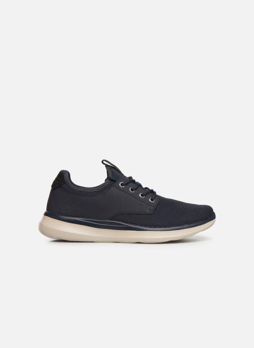 Sneakers Skechers Delson 2.0 Weslo Blå se bagfra
