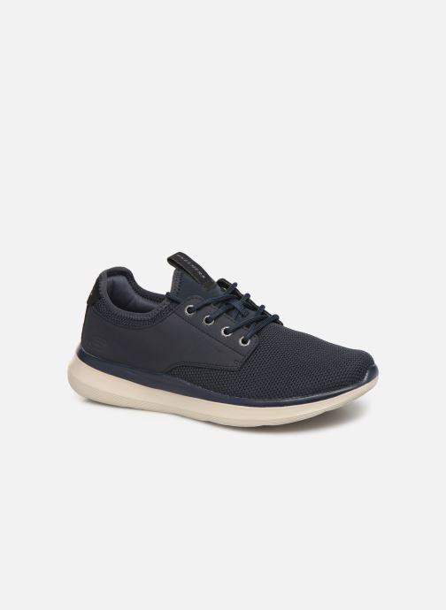 Sneakers Skechers Delson 2.0 Weslo Blå detaljeret billede af skoene