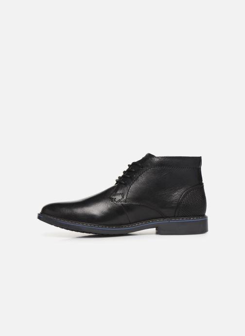 Zapatos con cordones Skechers Bregman Calsen Negro vista de frente