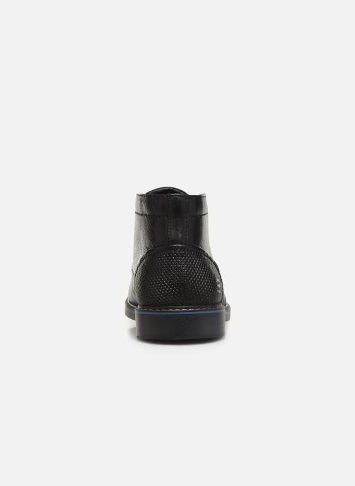 Zapatos con cordones Skechers Bregman Calsen Negro vista lateral derecha