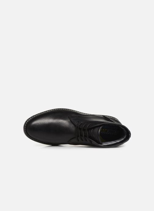 Chaussures à lacets Skechers Bregman Calsen Noir vue gauche
