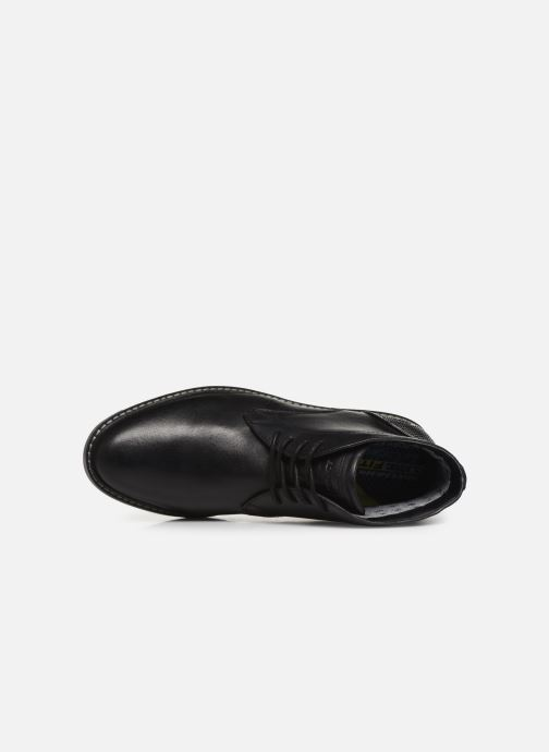 Zapatos con cordones Skechers Bregman Calsen Negro vista lateral izquierda