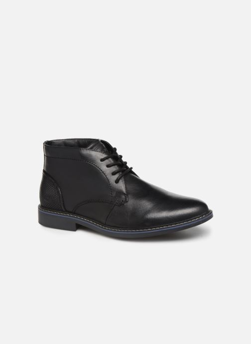 Snøresko Skechers Bregman Calsen Sort detaljeret billede af skoene