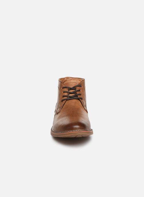 Lace-up shoes Skechers Bregman Calsen Brown model view