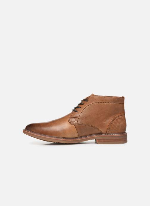Zapatos con cordones Skechers Bregman Calsen Marrón vista de frente