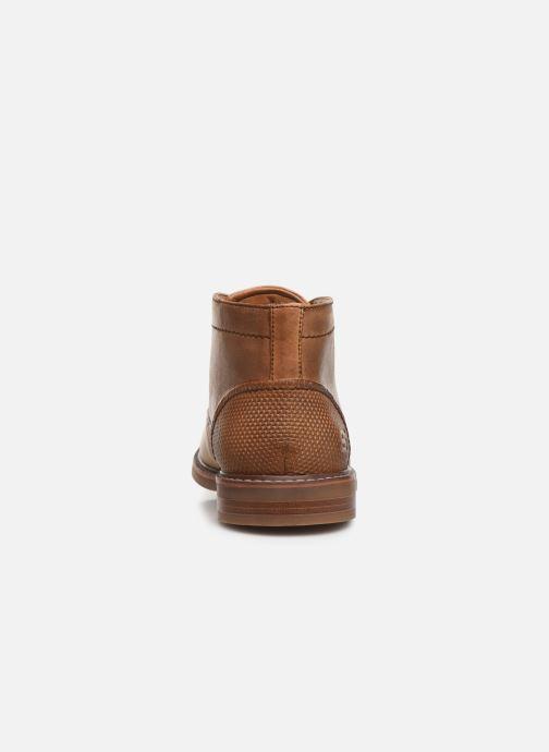 Zapatos con cordones Skechers Bregman Calsen Marrón vista lateral derecha