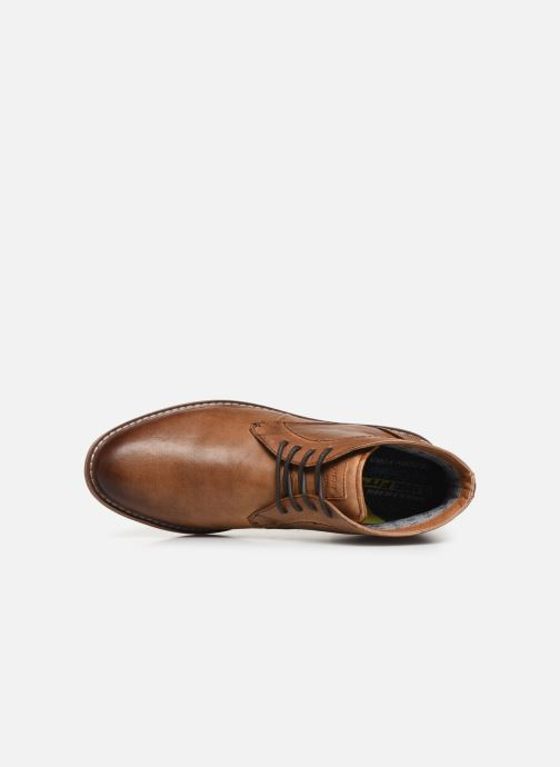 Zapatos con cordones Skechers Bregman Calsen Marrón vista lateral izquierda
