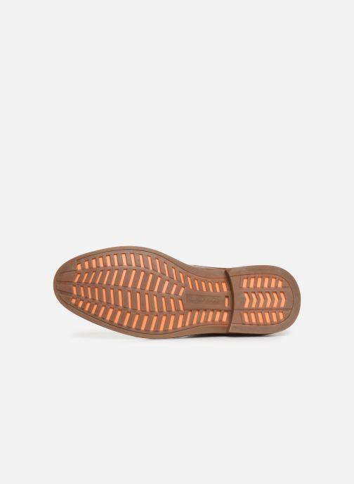 Zapatos con cordones Skechers Bregman Calsen Marrón vista de arriba